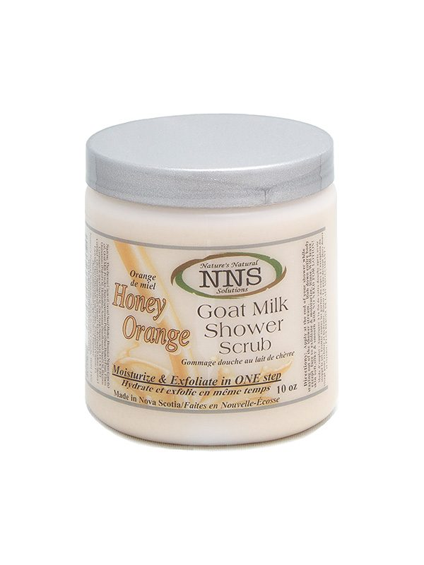 Honey Orange Shower Scrub