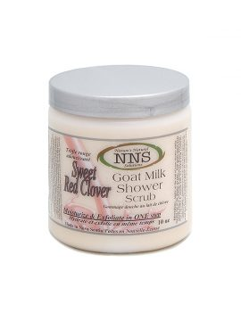 Sweet Red Clover Shower Scrub