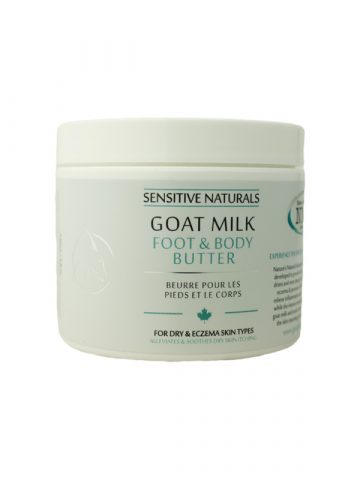 Sensitive Naturals Goat Milk Foot and Body Butter
