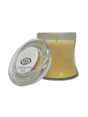 Creme Brulee Natural Soy Wax Candle