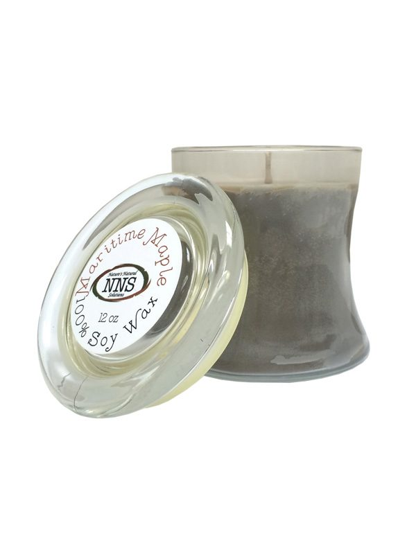 Maritime Maple Natural Soy Wax Candle