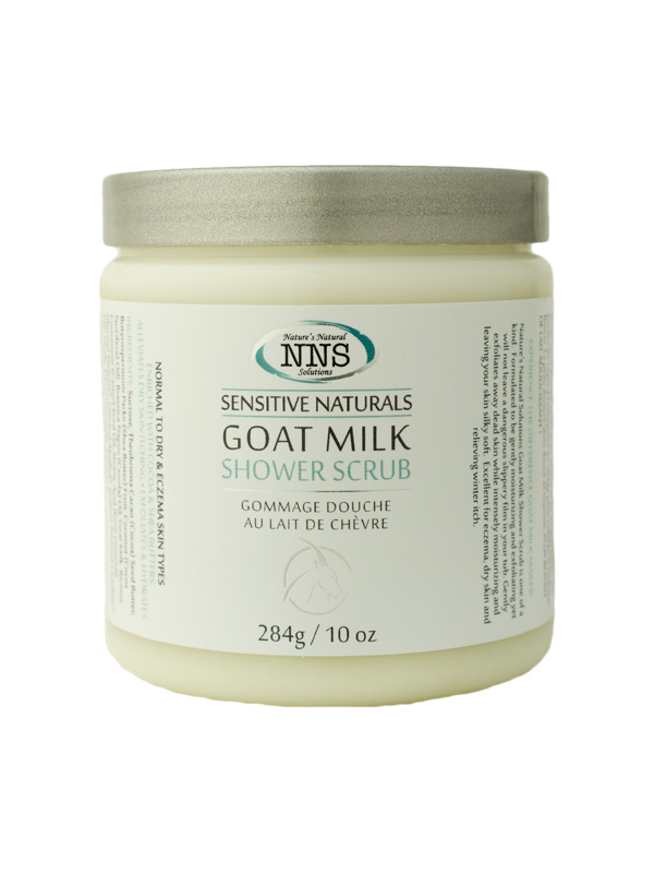 Sensitive Naturals Goat Milk Shower Scrub